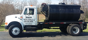 Commercial Sealcoating service in Virginia by Jericho Asphalt Sealing.